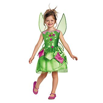Tinker Bell Tinkerbell Fairy Classic Disney Toddler Girls Costume 3T - 4T