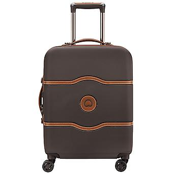 Delsey Châtelet air polycarbonat 4-hjuls trolley kuffert 00 1672 810