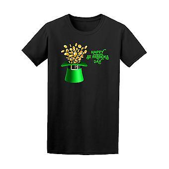 Happy Saint Patricks Day Hat Tee Men's -Image by Shutterstock