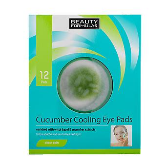 Beauty Formulas Cucumber Cooling Eye Pads