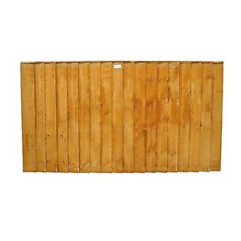 Forest Garden 3ft Featheredge Wooden Fence Panel