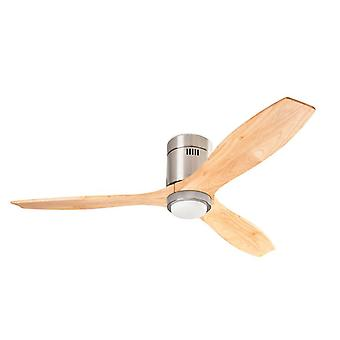 Energy-saving Ceiling Fan Stem Light Wood with LED
