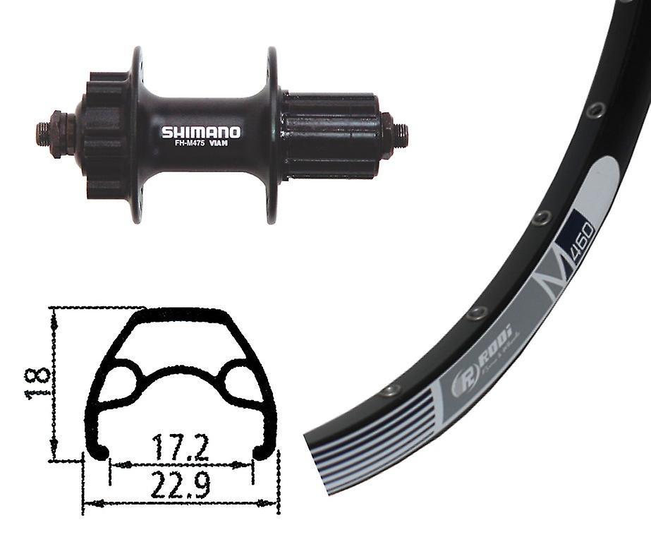 Disque de roue 460 M Rodi de vélo pièces 26″ + Shihommeo alivio 6 trous 8 à 10 fois (QR)
