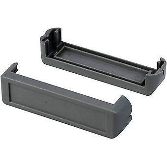 Corner pieces Plastic Grey Axxatronic CHH64E1DG 2 pc(s)