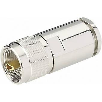 UHF connector Plug, straight 50 Ω BKL Electronic 0406064 1 pc(s)