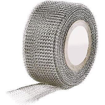 Ruban de tissu de HellermannTyton 711-10002 métal (L x L) 4,6 m x 25 mm 1 rouleaux