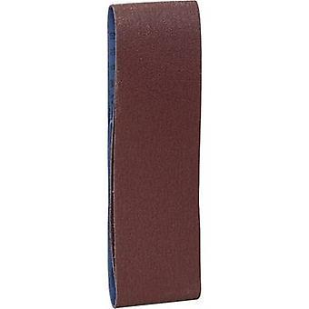 حزام Brüder شركة مانسمان 12355 الصنفرة تعيين حجم حصى 60، 120 (L × العرض × العمق) تعيين 533 مم × 75 مم 1