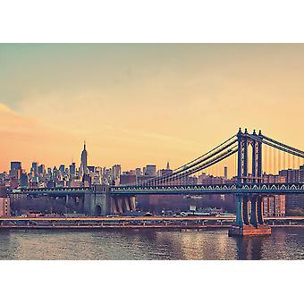New York poster Brooklyn Bridge giant poster