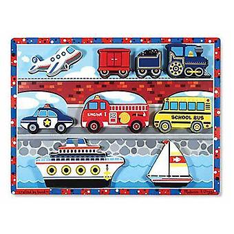 Melissa & Doug Vehicle Chunky Puzzle