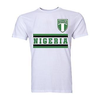 Nigeria Core Football Country T-Shirt (White)