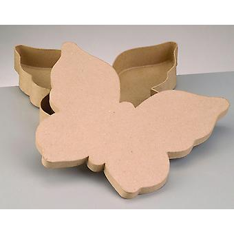 Jumbo Paper Mache Butterfly Shaped Box for Crafts | Papier Mache Boxes