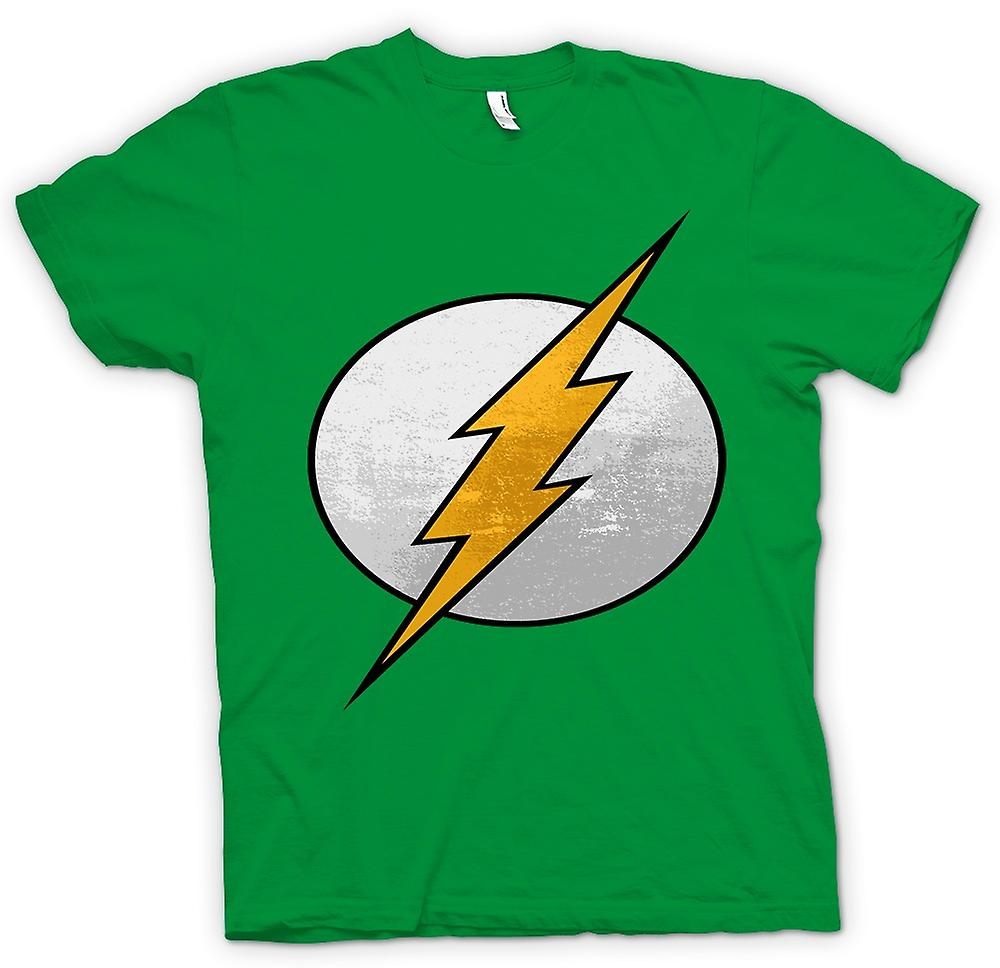 Mens t-skjorte - Flash logoen - kule