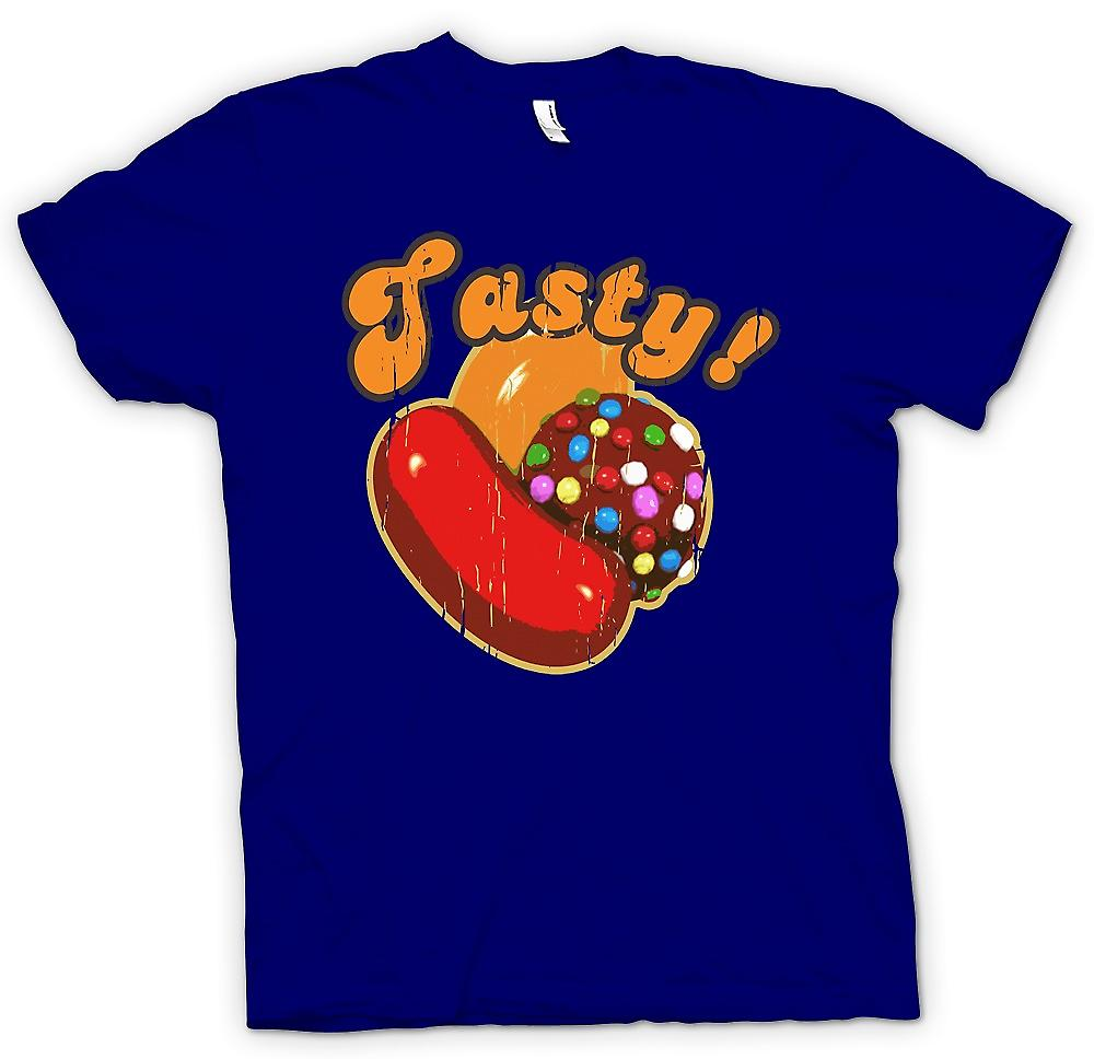 Mens t-shirt-gustoso - Candy Crush ispirato del giocatore