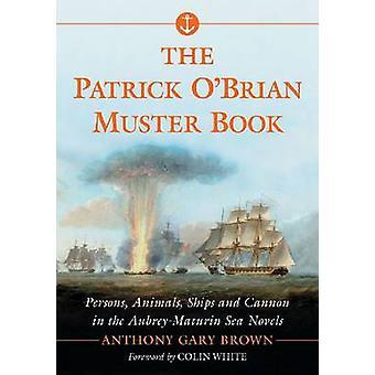 Patrick O'brian Muster boken - personer - djur - fartyg och kanon