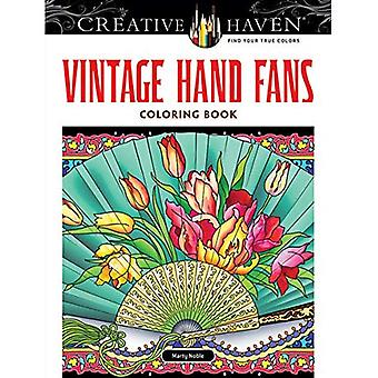 Kreative Oase Vintage Handfächer Malbuch (kreative Oase Malbücher)