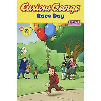 Curious George Race Day (Curious George Early Reader Series)