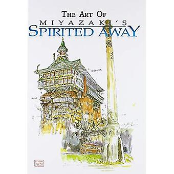 A arte de Miyazaki a viagem de Chihiro (Studio Ghibli biblioteca)