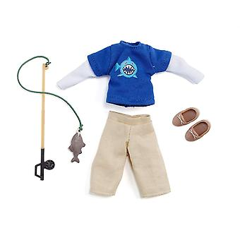 Lottie Doll Outfit Gone Fishing Clothing Set | Best fun gift for empowering kids