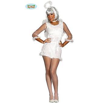 Sexy Engel mit Flügel Kostüm für Damen