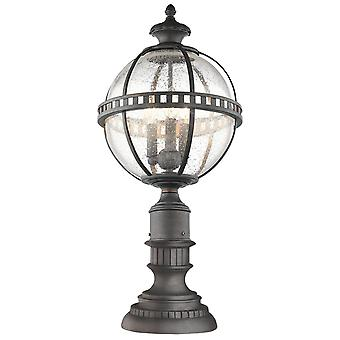 Halleron Londonderry Outdoor Pedestal Lantern - Elstead Lighting Kl / Halleron / KL/HALLERON/3M