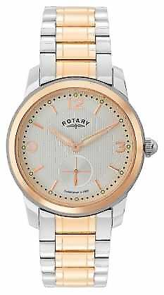 Cambridge rotatif Mens deux Tone Watch GB02701/01