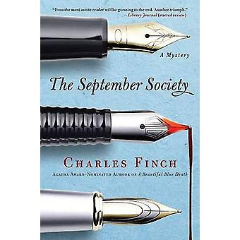 The September Society by Charles Finch - 9780312564940 Book
