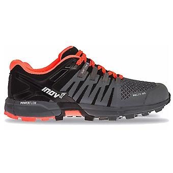 Inov8 Roclite 305 Womens Medium Fit Trail Running Shoes Grey/black/coral