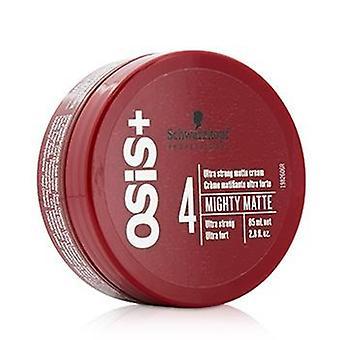 Schwarzkopf Osis + machtige mat Ultra sterke Matte Cream (Ultra Strong) - 85ml/2,8 oz