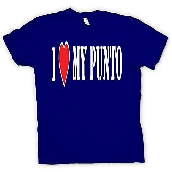 Kids T-shirt - I LoveMy Punto - Fun - Fiat Car