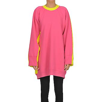 Céline Fuchsia Cotton Sweatshirt