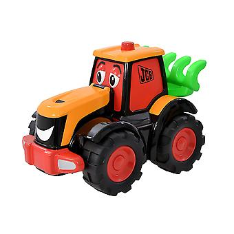 My 1st JCB Big Wheeler Freddie Fastrac Tractor Toy