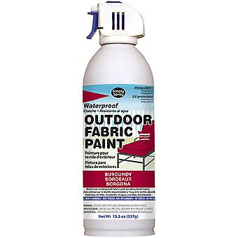Outdoor Spray Fabric Paint 13.3oz-Burgundy OF0046-7M