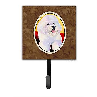 Bichon Frise Leash Holder or Key Hook