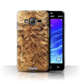 STUFF4 Case/Cover for Samsung Z1/Z130/Dog/Animal Fur Pattern