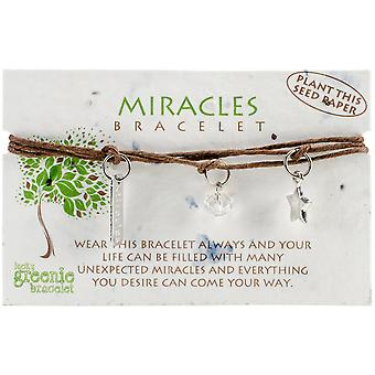 Greenie Bracelet 1/Pkg-Miracles GB-273