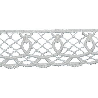 Loop Edge Venice Lace Trim 1-3/8