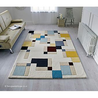 Abstract Blocks Rug