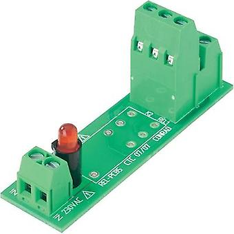 Relay card unequipped 1 pc(s) 230 Vac Conrad Components REL-PCB5 0 2 change-overs 230 Vac