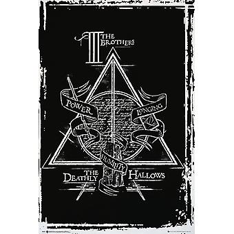 Harry Potter Deathly Hallows grafische Maxi Poster