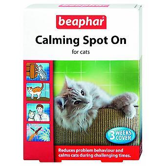 Beaphar kat kalmerende plek op 3 pipetten (Pack van 6)