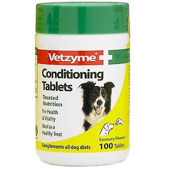 Vetzyme hund Conditioning 100 tabletter