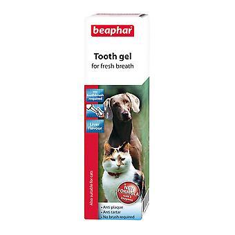 Beaphar hond & kat Toothgel 100g (Pack van 6)
