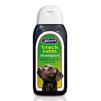 Jvp Dog Black Satin Shampoo 200ml (Pack of 6)