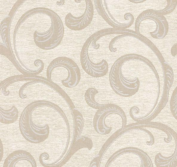 Damask Wallpaper Scrolls Swirls Cream Easy To Hang Exclusive Wallcoverings