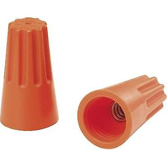 Core connector flexible: - rigid: 1.25-2 mm² Number of pins: 2, 3 KSS SW73BH 100 pc(s) Orange