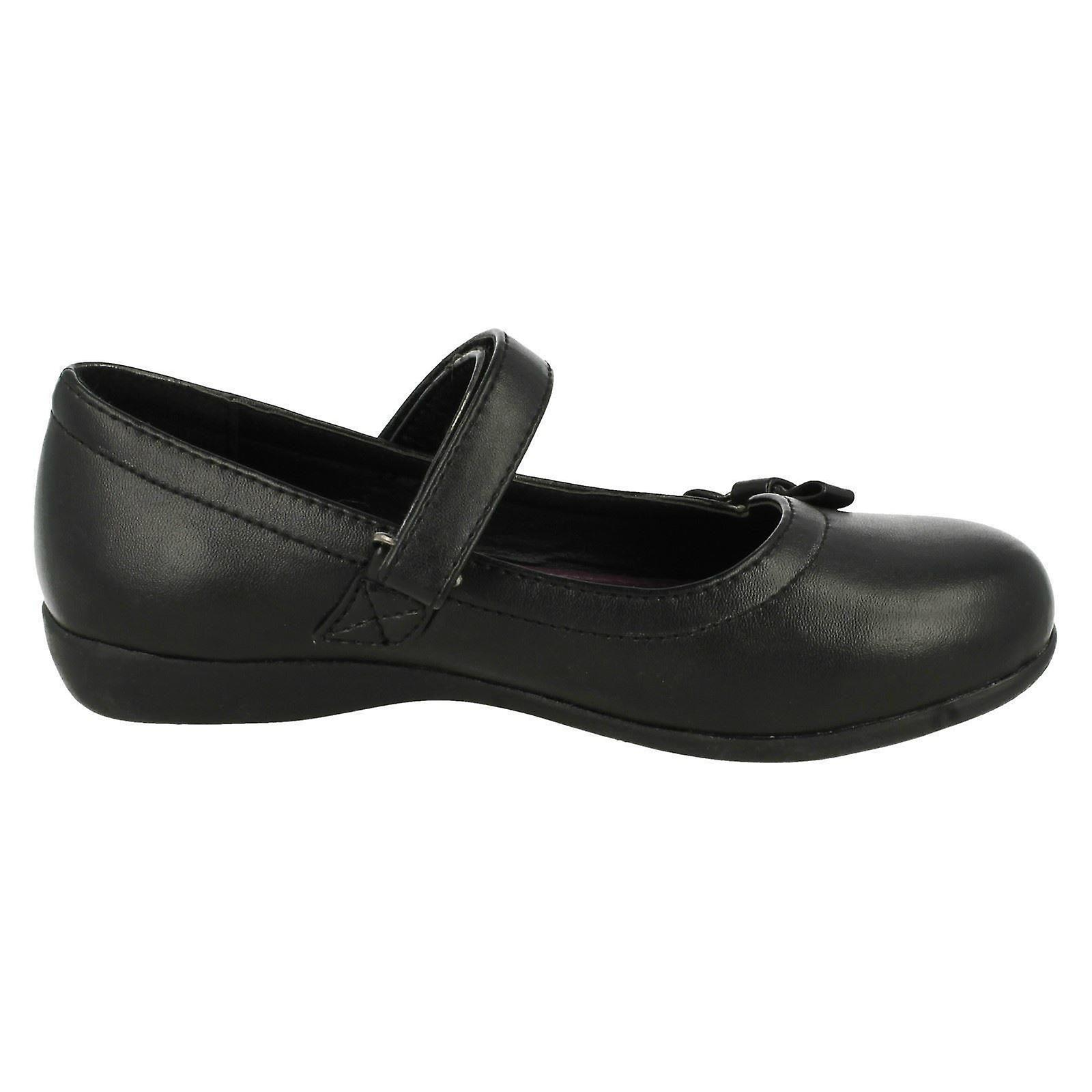 Girls Cool For For For School Bow Detail School Shoes 5a191e