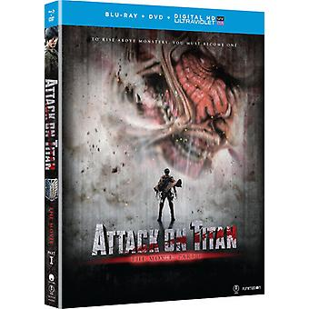 Attack on Titan the Movie: Part 1 [Blu-ray] USA import