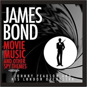 Johnny Pearson & His Orchestra London - plus James Bond Film Music et autres Spy Themes [CD] USA import