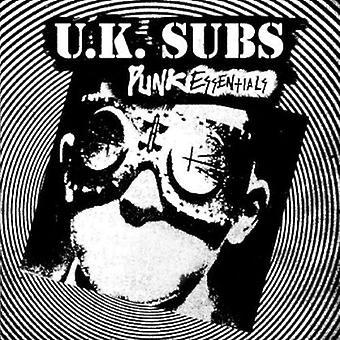 UK Subs - Punk Essentials [CD] USA importeren