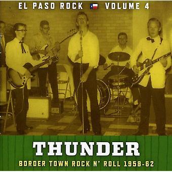 Thunder: El Paso Rock - Vol. 4-Thunder: El Paso Rock [CD] USA import